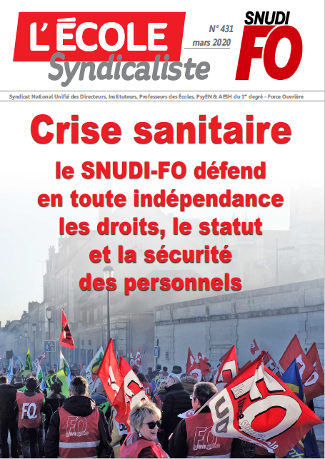 Journal du SNUDI FO national