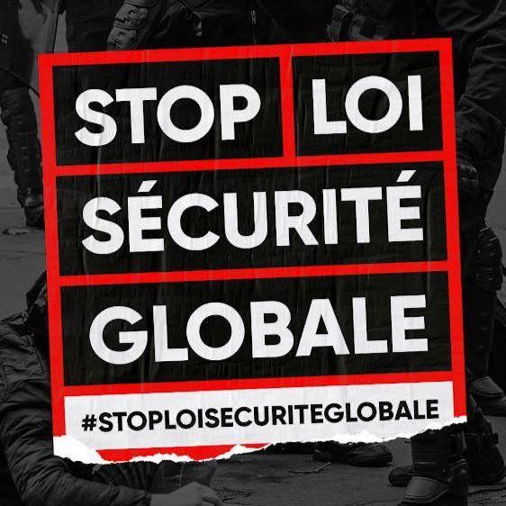 Appel intersyndical samedi 12 décembre à Auxerre : pour le retrait TOTAL de la Loi sécurité Globale !