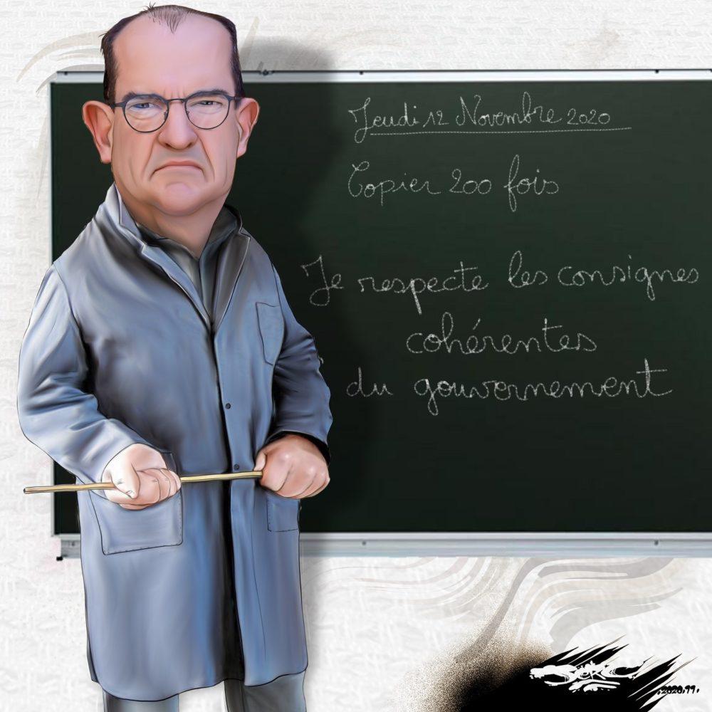 Non M. Castex, l'école n'est pas une garderie ! La FNEC FP-FO défend l'école laïque, publique et obligatoire